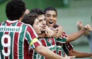 Fluminense com cara de Fluminense